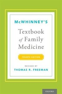 Book McWhinneys Textbook of Family Medicine by Thomas R. Freeman