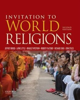 Book Invitation to World Religions by Jeffrey Brodd