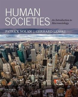 Book Human Societies: An Introduction to Macrosociology by Patrick Nolan