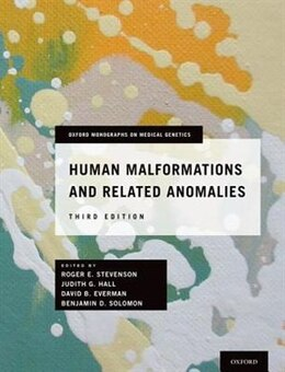 Book Human Malformations and Related Anomalies by Roger E. Stevenson