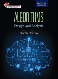 Book Algorithms: Design and Analysis by Harsh Bhasin