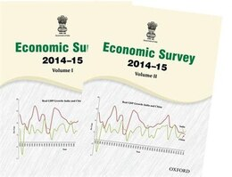 Book Economic Survey 2014-15 by Ministry of Finance, Government of India