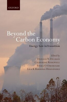 Book Beyond The Carbon Economy: Energy Law in Transition by Catherine Redgwell