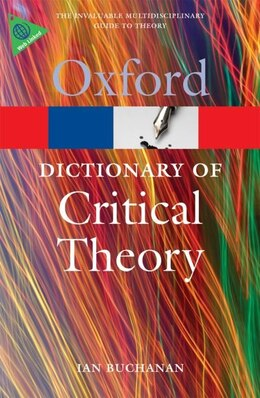 Book A Dictionary of Critical Theory by Ian Buchanan