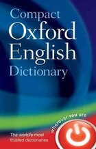 Compact Oxford English Dictionary of Current English: Revised third edition