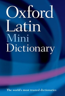 Book Oxford Latin Mini Dictionary by James Morwood