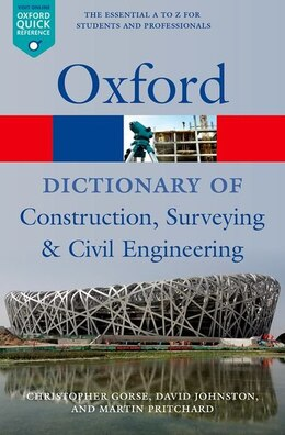 Book A Dictionary of Construction, Surveying, and Civil Engineering by Christopher Gorse