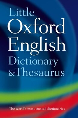 Book Little Oxford Dictionary and Thesaurus by Oxford