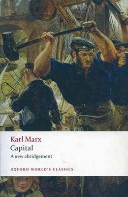 Book Capital: An Abridged Edition by Karl Marx
