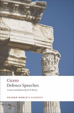 Book Defence Speeches by Cicero