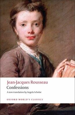 Book Confessions by Jean-jacques Rousseau