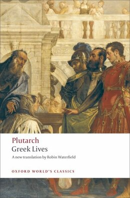 Book Greek Lives by Plutarch