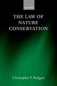 Book The Law of Nature Conservation by Christopher Rodgers