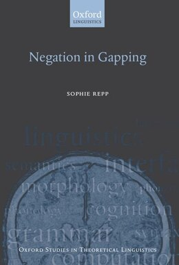 Book Negation in Gapping by Sophie Repp