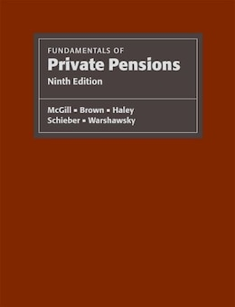 Book Fundamentals of Private Pensions by Dan Mcgill