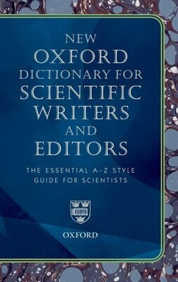 Book Oxford Dictionary for Scientific Writers and Editors by Elizabeth A. Martin