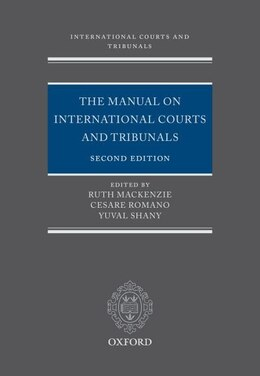 Book The Manual on International Courts and Tribunals by Ruth Mackenzie