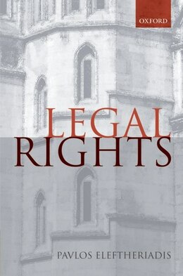 Book Legal Rights by Pavlos Eleftheriadis