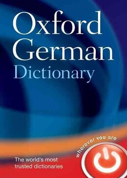 Book Oxford German Dictionary by Oxford Dictionaries