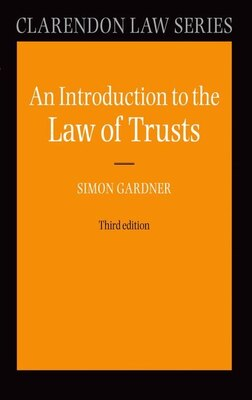 Book An Introduction to the Law of Trusts by Simon Gardner