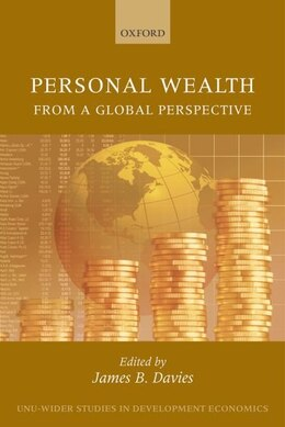 Book Personal Wealth from a Global Perspective by James B. Davies