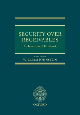 Book Security Over Receivables: An International Handbook by William Johnston