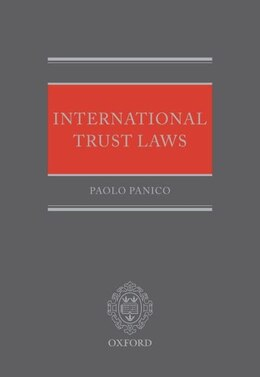 Book International Trust Laws by Paolo Panico