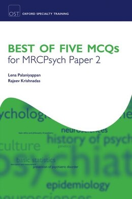 Book Best of Five MCQs for MRCPsych Paper 2 by Lena Palaniyappan
