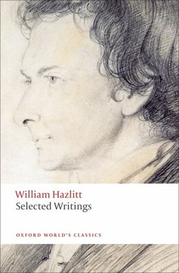 Book Selected Writings by William Hazlitt
