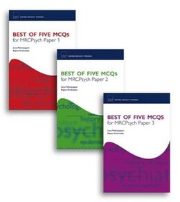 Book Best of Five MCQs for MRCPsych Papers 1, 2 and 3 Pack by Lena Palaniyappan