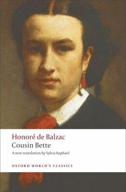 Book Cousin Bette by Honore de Balzac