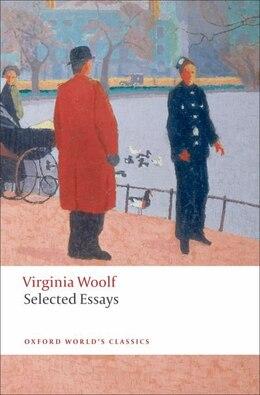 Book Selected Essays by Virginia Woolf