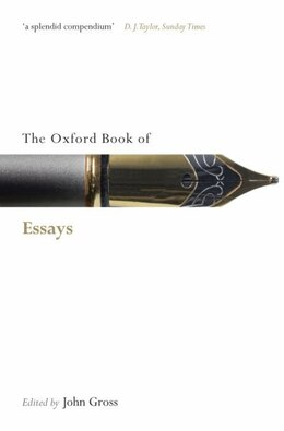 Book The Oxford Book of Essays by John Gross