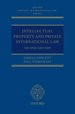 Book Intellectual Property and Private International Law by James J. Fawcett