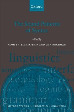 Book The Sound Patterns of Syntax by Nomi Erteschik-Shir