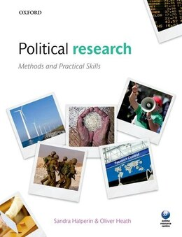 Book Political Research: Methods and Practical Skills by Sandra Halperin