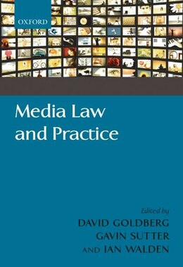 Book Media Law and Practice by David Goldberg