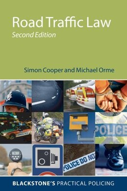 Book Road Traffic Law by Simon Cooper