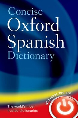 Book Concise Oxford Spanish Dictionary by Oxford