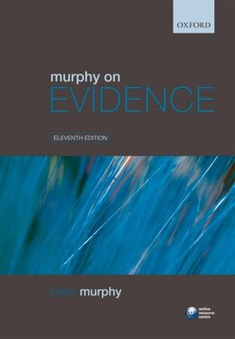 Book Murphy on Evidence by Peter Murphy