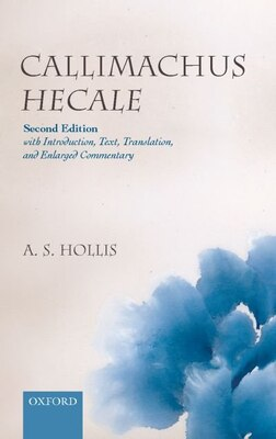 Book Callimachus Hecale by Adrian S. Hollis