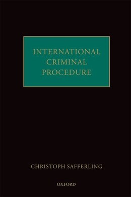 Book International Criminal Procedure by Christoph Safferling