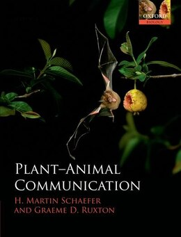 Book Plant-Animal Communication by H. Martin Schaefer