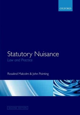 Book Statutory Nuisance: Law and Practice by Rosalind Malcolm
