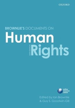 Book Basic Documents on Human Rights by Ian Brownlie