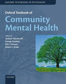 Book Oxford Textbook of Community Mental Health by Graham Thornicroft
