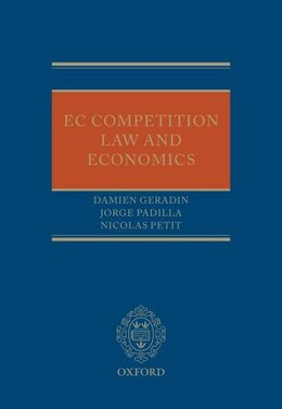 Book EC Competition Law and Economics by Damien Geradin