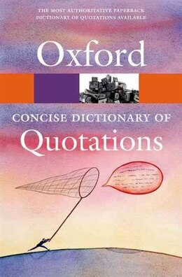 Book Concise Oxford Dictionary of Quotations by Susan Ratcliffe
