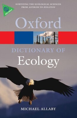 Book A Dictionary of Ecology by Michael Allaby
