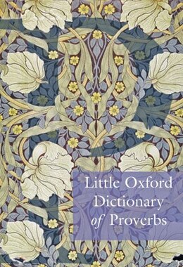 Book Little Oxford Dictionary of Proverbs by Elizabeth Knowles